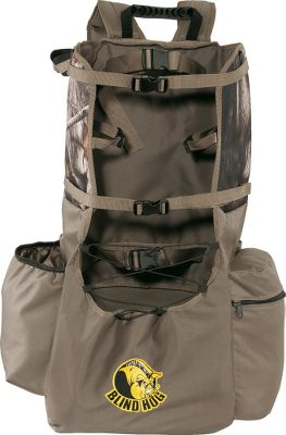 Hunting Make short work of your trips in and out of the field with this rugged, efficient pack. The large compartment is designed to accommodate most ground blinds, bows and rifles, and extra pockets stash binoculars, calls, shells, food and other essentials. Compression panels keep the load close to your body, and a molded-foam back provides form-fitting comfort. Soft, padded shoulder and belt straps team up with a sternum strap for easy hauling. Reinforced bartacks at all stress points deliver brush-busting durability. Imported. - $49.88