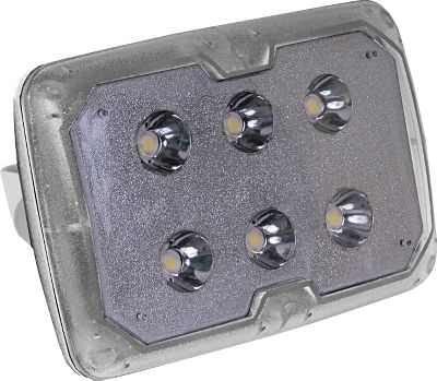 Fishing Impact-resistant LED lights are built to withstand the rigors of marine applications. Each is hard-wired to provide 100,000 hours of operation with a low draw that wont drain batteries. Available: LED Spotlight Produces a lighthouse-bright, 4,474-lumen beam with three high-powered, 3-watt LEDs. Its tight beam spreads light 22 vertically and 25 horizontally for navigation and marker spotting. The waterproof polycarbonate lens and white housing also resist damage from impacts and UV rays for marine-grade durability. Stainless steel mounting bracket with adjustable tilt. Dimensions: 3.45H x 5W x 4.24D. LED Spreader Light Six 1-watt LEDs provide 675 lumens of light, equal to that of a high-powered 50-watt halogen bulb. It also spreads light in a super-wide, 150 arc, flooding the area in and around your boat with light for casting, tying knots and netting fish. Waterproof, UV- and impact-resistant white housing and polycarbonate lens. Stainless steel mounting bracket with adjustable tilt. Dimensions: 3.45H x 5W x 3D. Color: White. - $69.99