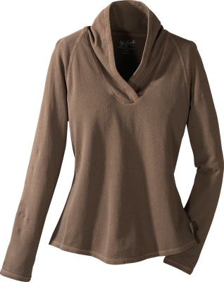 The 4.75-oz. 100% cotton crepe knit is garment-dyed for a super-soft, broken-in feel. Cover-stitched seams allow the fabric to stretch while promoting long-wearing durability. The Shawl Collar Sweater has a curved hem and raglan sleeves for form-fitting comfort. Imported. Center back length:25.Sizes: S-2XL. Colors: Bluebell, Bridle, Spruce, Ultra Violet. - $14.88