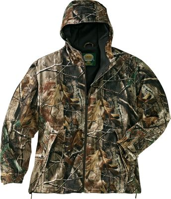 Hunting Revolution Fleece is every bit as soft, quiet and warm as the traditional fleece youve depended on for years. But it has virtually no nap, so burs and other vegetation wont cling to it. Plus, it wont pill and deteriorate, even after repeated washings and wear. 100% waterproof, breathable Dry-Plus lining. Two front zippered pockets. Shock-corded waist. Adjustable hood. Velcro-adjustable cuffs. Soft polyester-tricot lining. Imported. Sizes: M-3XL. Camo patterns: Mossy Oak Break-Up, Mossy Oak Treestand, Realtree AP, Seclusion 3D, Outfitter Camo. Type: Jackets. Size: X-Large. Camo Pattern: Outfitter Camo. Size Xl. Color Outfitter Camo. - $32.88