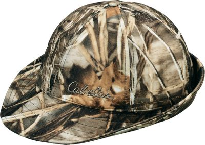 "Hunting It's hard to improve a classic, but we did. We combined the proven performance of GORE-TEX and Thinsulate Insulation with Cabela's-exclusive Silent Suede fabric. This unique suedelike fabric provides an excellent fit with durability and quietness. Fold the 2"" brim up or down in back. Imported. Sizes: S-2XL. Color/Camo patterns: Blaze Orange, Realtree MAX-4 , Mossy Oak Duck Blind , Mossy Oak New Break-Up , Seclusion 3D Blaze, Mossy Oak Break-Up Infinity . - $9.88"