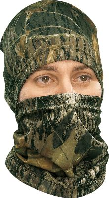 Hunting All-season comfort at its finest. Breathable and stretchable for next to skin fit. Fabric will wick moisture away and is also treated with an antimicrobial finish. Wear gaiter and cap separately or as a combo. One size fits most. Imported. Camo pattern: Mossy Oak New Break-Up . - $4.88