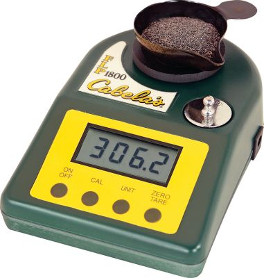 Enjoy the versatility of being able to accurately measure in grains, grams, ounces, troy ounces, drams and carats on surfaces that arent precisely level. Wide stance and adjustable legs compensate for surfaces up to 15 off level. 1,800-grain max capacity. Wide-angle-viewing, high-contrast LCD for easy reading. Antistatic molded tray and pan. 15-minute automatic shutoff. Includes one calibration weight and hard-sided storage case. - $99.99