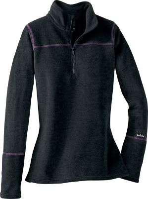 Nothing works better against biting cold than polar-weight MTP base layer. Boasting 100% polyester microfleece on the outside and inside for unmatched warmth. Flatlock stitching for reduced chafing. Imported. Center back length for size Medium: 27. Sizes: S-2XL. Color: Black. Size: SMALL. Color: Black. Gender: Female. Age Group: Adult. Material: Polyester. - $13.49
