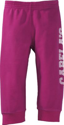Brushed for softness and comfort, these youth capris have the Cabelas logo screen printed down the left leg. Elastic waist. 80/20 cotton/polyester. Machine washable. Imported. Sizes: XS-XL. Color: Mountain Rose. Size: Medium. Color: Mountain Rose. Gender: Female. Age Group: Kids. Pattern: Printed. Material: Polyester. Type: Capris. - $14.99