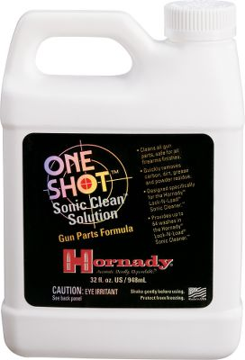Safe for all firearm finishes. Clean dirt, grease and powder residue from small, steel gun parts. Concentrated formula. 1 gallon bottle. - $61.99