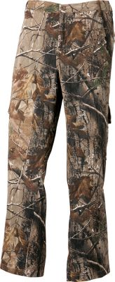 Hunting Ideal for hunting and other outdoor adventures, these twill camo pants provide ample protection from the elements. Made of soft 100% cotton twill. Two front pockets. Two side cargo pockets. Machine washable. Imported.Inseam: 32.Sizes: 8-18.Camo pattern: Realtree AP. - $29.99
