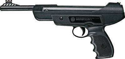 High-power performance in a handheld, break-barrel package. With hyper-velocity .177 pellets, this single-shot, spring-piston pistol reaches speeds of 600 fps. Rifled barrel for accuracy. Fiber-optic front and rear sights for a crisp sight picture. One-stroke cocking mechanism and included cocking-assist handle. Comfortable, ergonomic grip. Cocking effort: 25 lbs. Overall length: 14. Wt: 3 lbs. - $49.88