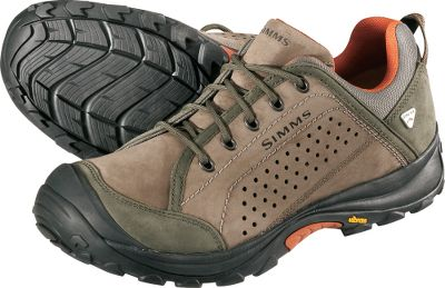 Experience great performance in and out of the water. Seam-sealed GORE-TEX booties provide waterproof, breathable protection. Their waterproof nubuck uppers offer excellent durability. They also have special Vibram outsoles with perimeter trail lugs and inner marine lugs with microchannel sipes to improve footing on wet surfaces. Dual-density midsoles and Ortholite memory-foam sock liners. Imported.Mens sizes: 8-13 medium width. Half sizes to 12.Color: Brown. - $49.88