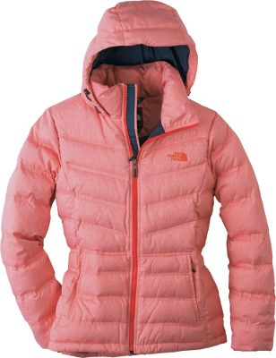 The wear-resistant, 85-denier 100% polyester mlange tafetta body is lined with plush 700-fill-power goose-down insulation for warmth. The hoodies sleek, standard fit matched with an adjustable, insulated drop hood provides form-fitting, cold-blocking comfort. Two handwarmer pockets, an internal security pocket and a hem cinch cord. Imported.Center back length: 27. Sizes: S-XL. Colors: TNF Black, Response Red. Type: Jackets. Size: Medium. Size Medium. Color Response Red. - $144.88