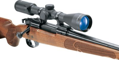 Hunting For high-quality, U.S.-engineered scopes at a great price, Weavers Kaspa series hits the bulls-eye. Durable, one-piece aircraft-grade-aluminum tube construction is built to withstand heavy recoil punishment. Fully multicoated lenses provide bright, clear images and optimal light transmission while eliminating glare. Crisp, 1/4-MOA adjustments offer reliable, consistent accuracy. Nitrogen purged for 100% fogproof performance. Backed by Weavers limited lifetime guarantee. Weight (oz.): 14.3. Type: Riflescopes. Tube Diameter: 1 in.. Reticle: Ballistic-X. Power: 3-12. Objective Diameter (mm): 50. Length (in.): 12.5. FOV @ 100 yds. (ft.): 32.6-8.2. Finish: Matte. Eye Relief (in.): 4.5-3.7. Power 3-12x50m Ballistic-X. - $179.99
