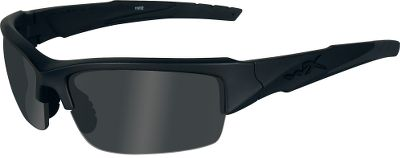 Entertainment Wiley X is the only premium eyewear maker that certifies all of its glasses to ANSI Z87.1-2003 high-impact and optical standards, to meet OSHA occupational-grade eye protection safety standards. Each of these also exceeds military ballistic requirements for combat eye protection. Shatterproof lenses block 100% of harmful UV rays and meet military ballistic specifications for protective combat eyewear. Changeable lens capability for varying light conditions. Rubberized nose pads and temple gloves ensure the glasses stay in place through the harshest conditions. Hydrophobic, scratch-resistant, anti-reflective lens coatings for superior durability. Includes light rust lens, smoke gray lens, clear lens, zippered case and cleaning cloth. Rated as OSHA-grade occupational protective eyewear. Color: Smoke. - $89.99