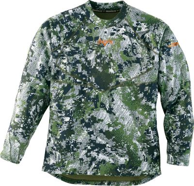 Hunting The addition of ClimaFleece fabric to this midweight layer increases heat retention for late-season hunts when extra warmth is essential. Improvements like better ergonomics and improved mobility make these the best-fitting Base'slayers ever. Antimicrobial treatment fights odor-causing bacteria, while activated carbon adsorbs a wide range of odors. Has raglan sleeves and underarm gussets to provide maximum ease of movement. Has smooth flatlock seams. Imported. Sizes: M-2XL.Camo pattern: OptiFade Concealment Forest - $28.88