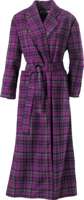 You deserve a relaxing home remedy after a long day of work or play. How about sinking into 100% cozy cotton flannel Robe has two front pockets, interior security tie, belt loops and belt. Machine washable. Imported. Sizes: S-2XL.Colors: Deep Royal Plaid, Deep Scarlet Plaid. - $59.88