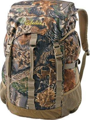 Hunting No frills here just a reliable, versatile hunting pack at a great price. Our Top-Load Hunting Pack has 9 water-repellent, low-nap polyester tricot shell fabric that slides quietly through the the woods. The large, ruck-style top-loading compartment with PVC lining and two mesh side pockets handle all your hunting gear. Side compression straps and padded shoulder straps for load-distributing comfort. Imported. Color: Mossy Oak Infinity. Type: Hunting Packs. - $44.88