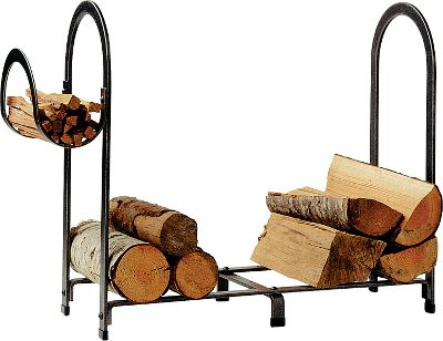 Over 3-ft. long, strengthened by hot-rolled-steel construction and decked out with biased-bend arches, this large-sized log rack makes itself useful among traditional or contemporary dcor. Hand wrought by skilled craftsmen, this rugged rack features a hammered-steel finish and a protective acrylic coating. Five-year limited warranty. Made in USA. 38L x 13W x 30H. Type: Log Racks. - $229.99