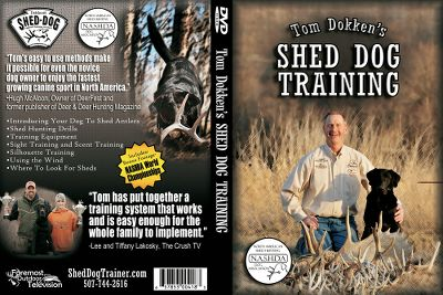 Hunting Teach your dog to retrieve shed antlers using these professional instructions, drills and tips from Tom Dokken. Bonus footage of the NASHDAWorld Championships. 38 minutes. - $14.88