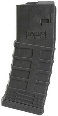 Your semiautomatic firearm is only as reliable as the magazine feeding it. These new 30-round magazines are a component of the Tapco Intrafuse AR Rifle System, and they can be depended on everywhere from the local shooting range to deployment overseas. Aggressive horizontal ridges on these magazines let you get a sure hold for insertion or extraction even in wet and muddy conditions. Constructed of rugged, reinforced composite polymer material, youll find them to be reliable in any environment. Manufacturers lifetime warranty. Made in USA. - $13.88