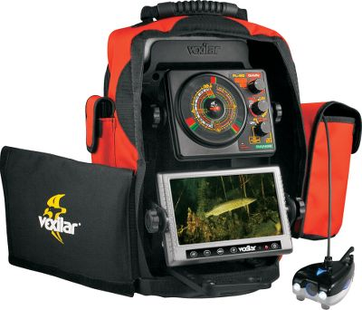 Fishing Fish Scout Double Vision with FL20 IceDucer is the ultimate fishing tool that has everything youll need to double your fishing success. The Fish Scout Double Vision system starts with a great 16:9 widescreen color monitor, 80 ft. of cable, a color/black-and-white camera system that automatically shifts from color to black-and-white mode in low-light conditions. Your Fish Scout Double Vision system has its own carry case with two options for over-hole suspension arms and even a battery-status indicator. This system comes with a 9-amp/hour, 12-volt battery and a 1-amp/hour battery charger. The FL20 Tri-Beam IceDucer system is the ultimate sonar system. It has two zoom zones for deep-water fishing, a night mode option and special low power mode for shallow-water fishing. The Tri-Beam IceDucer is the wolds first and only three-cone transducer in one housing with 8-, 12- and 20-degree cones giving the angler the ultimate in flexibility for any fishing condition. By blending the Fish Scout Camera system with the FL20 three-color Flasher, you have created the ultimate fishing machine. Type: Underwater Cameras. - $1,049.99