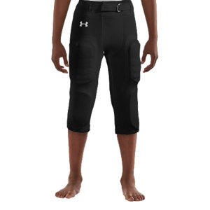 "Sports 7 built-in, machine-washable pads deliver lightweight, durable protection where you need it.  4-way stretch fabrication allows greater mobility and maintains shape.  Signature Moisture Transport System wicks sweat away from the body.  Elastic bottom for secure fit.  Built-in belt.  Inseam Length: Size YMD 12.75"" (+/- 0.5"" per size).  Polyester/Elastane.  Imported. - $25.49"