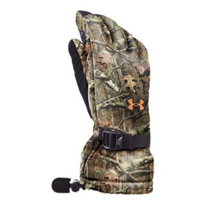 Hunting Warm, 150g insulated brushed knit lining provides comfort even with extended useDurable synthetic palm protects your hands and your hunting glovesQuick-access shooting finger release allows for always-ready performanceAthletic gloves feature adjustable wrists and cuff closure to help regulate coverage and tempSignature Moisture Transport System wicks sweat away to keep you drier and more comfortableCamouflage gloves sold in pairsImported - $39.99