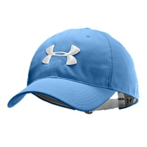 Sports Ideal for outdoor sports, this men's adjustable ball cap has an unstructured fit for relaxed custom comfort.  Custom UA metal adjuster so you can make the fit your own.  Embroidered UA logo on front of baseball-style hat adds style and statement.  100% Polyester.  Imported. - $14.99