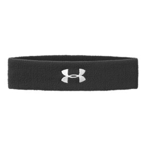 "Fitness Headband/sweatband constructed in multi-channel performance fibers.  HeatGear(R) fabric wicks moisture away from the skin.  Width: 2"".  Sold individually.  Polyester/Rubber.  Imported. - $4.99"