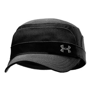 Fitness A military-style cap that provides protection in the sun, and style everywhereHeatGear(R) sweatband keeps you cool, dry, and light for ultimate focus on and off the greenLightweight, ultra-durable fabric endures even the toughest conditionsStructured stretch fit delivers enhanced comfort and stabilityDog tag-style UA logo adds a little swagPolyester / Spandex - $21.99