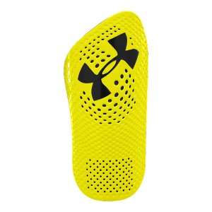 Fitness Stay mobile, stay protected & stay cool with the shinguard that features UA's signature HeatGear(R) compression fabric. Molded EVA foam backingHeatGear(R) Compression sleeve with guard pocketLightweight, low profile, slip-in constructionDurable hard shell outer with dimpled UA Blur patternContoured curvature for superior fitAnatomically designed to fit left and right specificallyMeets NOCSAE standard - $11.99