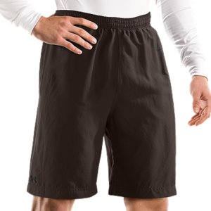 Fitness 4-way stretch fabrication improves mobility and accelerates dry time, while maintaining shapeSuperior Moisture Transport System keeps you cool, comfortable, and focused Liner brief with anti-odor technology keeps your shorts fresher, longerSide hand pockets provide easy storageOuter Short: Polyester/ElastaneLiner Short: PolyesterImported - $29.99