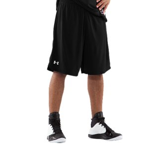 "Sports These are your ultimate game shorts. Ultra-light, no pockets, ventilation where you need it most.  No distractions. Double-layered micromesh fabric delivers superior breathabilitySignature Moisture Transport System wicks sweat away from the bodyCovered elastic waistband with internal drawcordStrategic vent at lower hem allow for better lateral movement10"" inseam 3.1 oz. Polyester Imported - $18.99"