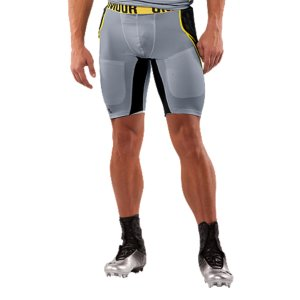 Fitness Lightweight MPZ(R) padding provides strategic protection for the gridiron4-way stretch fabrication improves range of motion, maintains shape, and accelerates dry timeSignature Moisture Transport System keeps you cool and comfortableStrategic ventilation delivers superior airflow when your game heats upFlatlock stitching is smooth against your skin for chafe-free performancePolyester/ElastaneImported - $36.99