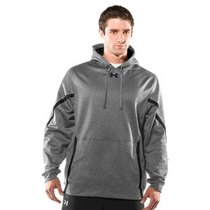 Fitness Armour(R) Fleece fabrication delivers a brushed inner layer and a quick-drying, lightweight outer layerSoft inner layer traps heat to keep you warm and comfortableSignature Moisture Transport System wicks sweat away from the bodyThree-piece hood construction for superior fitFront kangaroo pocket PolyesterImported - $36.99