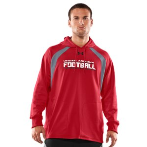 Fitness Lightweight fleece fabrication has a smooth, durable outer layer and a soft, brushed interior to trap just enough warmthTextured mesh contrast color panels boost breathability to keep you going strong when things heat up on the fieldSuperior Moisture Transport System wicks sweat so you stay drier, more comfortable, and focused on your gameSmooth flatlock seams and raglan sleeve construction deliver a chafe-free, full range of motionDurable ribbed cuffs and side hems give you stretch and comfort on the moveFront pockets provide added hand warmthPolyesterImported - $59.99