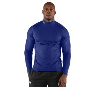 Fitness Dual-layer fabric provides a durable, smooth, fast-drying exterior.  Soft, brushed interior traps warmth without adding bulk.  4-Way Stretch fabrication allows greater mobility and maintains shape.  Signature Moisture Transport System wicks sweat away from the body.  Anti-Odor technology prevents the growth of odor causing microbes.  Flatlock seams prevent chafing.  7.0 oz. Polyester/Elastane.  Imported. - $38.99
