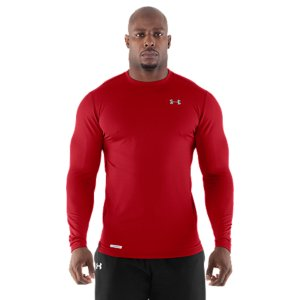 Fitness Under Armour's baselayers tell our story best-innovation for the field, built to help you perform better. It all started with our warm-weather HeatGear(R) that wicks sweat to keep you cooler and drier. Athletes demanded the same performance, for the cold. And UA delivered with the ColdGear(R) Fitted Crew. It traps heat while it pulls away sweat, all in an ultra-lightweight, comfortable baselayer. Now it's our top-selling cold-weather-crushing solution. Your next training baselayer is staring you in the face. Looking for warm performance pants, too? Check out UA's ColdGearA(R) Fitted Leggings. You don't stop when the weather turns cold. And you don't always need the game-day squeeze of compression. We heard you. And we answered with the Men's ColdGearA(R) Fitted Long Sleeve Crew. It splits the difference to give you the looser-stretch comfort you asked for with cold-weather, core-warming performance you demand. The dual-layer fabric will wick away the sweaty proof of your labor and hold down odor. Use the ColdGearA(R) Fitted Crew, in any sport, as a layer or by itself, for superior warmth without the weight. Dual-layer fabric provides a durable, smooth, fast-drying exteriorSoft, brushed interior traps warmth without adding bulk4-Way Stretch fabrication allows greater mobility and maintains shapeSignature Moisture Transport System wicks sweat away from the bodyAnti-Odor technology prevents the growth of odor causing microbesSmooth, chafe-free flatlock seam construction7.0 oz. Polyester/ElastaneImported - $37.99