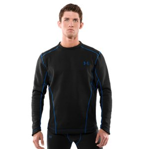 Extreme Extreme ColdGear(R) fabric has a durable exterior and a sherpa-lined interior to trap heat like a beastBrushback knit insets at strategic zones allow for ventilationSoft, moisture-wicking interior regulates your core temp to keep you dry and comfortableFlatlock seams feel smooth and prevent chafingSilicone gripper at hem keeps your shirt from riding up100% PolyesterImported - $41.99