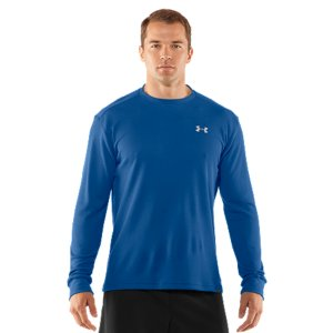Fitness Take your old-school thermal shirt. Now make it perform for an athlete. That's what you get with UA's Waffle Crew Shirt-that classic waffle pattern for warmth without the weight and advanced UA fabric to wick sweat and dry quickly. It's also made of recycled material for minimal environmental impact. That's just how UA takes something familiar and turns it into an advantage. Waffle textured, spun recycled polyester provides a soft feel and traps heat for warmth without the weightSignature Moisture Transport System wicks sweat away from the body Anti-odor technology prevents the growth of odor-causing microbesSmooth, chafe-free flatlock seam constructionRibbed cuffs and collar provide a durable, comfortable fit5.5 oz. Recycled PolyesterImported - $29.99