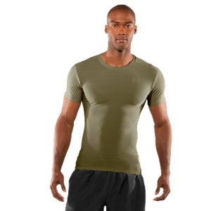 Entertainment WARNING!  This product will melt when exposed to extreme heat or open flames, posing a risk of serious injury where melted product comes into contact with skin!.  Ultra-soft fabric for the best in next-to-skin comfort with this compression shirt.  Lightweight, 4-way stretch fabrication improves range of motion and dries faster.  Advanced Moisture Transport System to keep you cool, dry, and comfortable.  Anti-odor technology prevents the growth of odor-causing microbes to keep your gear fresher, longer.  4.5 oz. Polyester/Elastane.  Imported. - $24.99