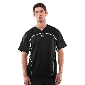 Fitness Lax game day shirt, with strategic ventilation to keep you comfortable & focused on the field. Mesh inserts provide strategic ventilation and mobilityLightweight 4-way stretch construction improves mobility and accelerates dry timeMoisture Transport System wicks away sweat to keep you cooler and drierNew, updated collar construction allows for a chafe-free fitPolyesterImported - $29.99