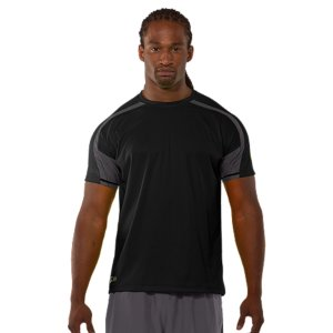 Fitness When you go to work, you need gear that helps you push further-not drags you down. The UA Combine(R) Training collection was designed to be ultra-light and durable, matching mobility with strength. Strategically placed textured panels offer increased breathability without sacrificing protection. Lightweight fabrics with sweat-wicking, quick-dry performance keep you light and mobile. Work hard and make it count. Lightweight, textured knit fabric holds up to the toughest trainingTextured hex panels add breathability where you need it mostSignature Moisture Transport System wicks sweat away from the body Anti-odor technology prevents the growth of odor causing microbesBody: 4.2 oz. PolyesterPanels: 3.7 oz. PolyesterImported - $20.99