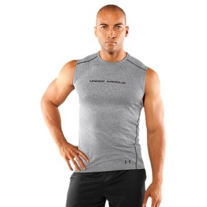 Fitness You don't need distractions when you train. The UA HeatGear(R) Touch Fitted Sleeveless T-shirt's ultra-soft fabric feels smooth against your skin, letting you train harder, longer. The rolled shoulder seams eliminate abrasions, for chafe-free mobility. Add in our signature HeatGear(R) Moisture Transport System and anti-odor technology, and what you've got is ultimate performance comfort. And that means no distractions. Be your untouchable best. Ultra-soft, lightweight fabric gives superior comfort, incredible next-to-skin feel, and unrivaled performanceSuperior Moisture Transport System wicks away sweat to keep you cooler and drierAnti-odor technology prevents the growth of odor-causing microbes, keeping your gear fresher, longerRolled shoulder seams eliminate chafing and enhance mobility4.6 oz. Polyester/ElastaneImported - $21.99