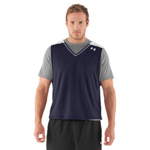 Fitness Reversible double-layer polyester mesh breathes to keep you comfortableSignature Moisture Transport System wicks away sweat to keep you cooler and drierFlatlock seams feel smooth against the skin and prevent chafingContrast color shoulder inserts let you show your team affiliation with your practice jersey100% PolyesterImported - $18.99