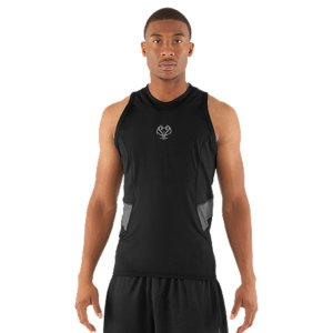 Sports UA's baselayer tank brings unrivaled comfort and ultimate breathability to your game. With stretch mesh panels and sweat-wicking, quick-dry construction you stay focused. Stay cool and comfortable on the court or on the move. Soft, durable fabric with mesh panels under arms and collar for superior breathabilityStrategic venting provides airflow where you need it 4-way stretch fabrication allows greater mobility and maintains shapeSignature Moisture Transport System wicks sweat away from the body Anti-odor technology prevents the growth of odor causing microbesSmooth, chafe-free flatlock seam constructionUA Basketball logoBody: 4.7 oz. Polyester/ElastaneMesh: 3.5 oz. Polyester/ElastaneImported - $21.99