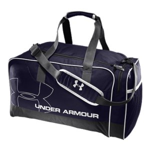 "Camp and Hike Roomy interior makes this duffel bag perfect for the gym, workday, or weekend awayAdditional side-pocket storage separates gear for easy accessMesh ventilation provides breathability to keep your gear freshAdjustable, padded shoulder strap and Velcro(R) closure carry handle keep you comfortable while you carryDimensions: 19.5"" x 11"" x 10.5""Cubic Volume: 2300Imported - $34.99"