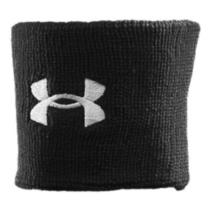 Fitness Multi-channel performance fibers absorb more and wick away moisture to keep you focused on your gameEmbroidered, oversized UA wristband logos add bold style and statementWristbands sold in pairsPolyester/RubberImported - $7.99