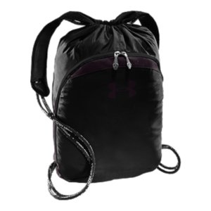 "Entertainment Breathable mesh backpack-style straps make this sackpack extra comfortableLots of room for your day-to-day gearEasy-cinch, UA branded, foam drawcords double as shoulder straps Large front organization pocket Internal zip storage pocket Dimensions: 18"" x 15"" x 4.5""Cubic Volume: 1400PolyesterImported - $29.99"