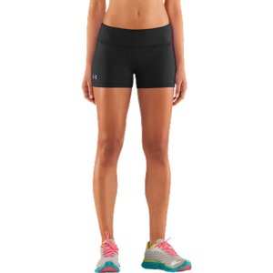 "Fitness Extraordinary ladies shouldn't have to settle for the same old workout gear. You need fits and patterns that are just as bold as you are. Good thing we created HeatGear(R) Sonic. An update to our signature HeatGear(R) fabric, HeatGear(R) Sonic delivers an incredible next-to-skin fit that is softer, lighter, and more comfortable than ever. And because it's HeatGear(R), it wicks moisture to the surface, so it dries faster-keeping you fit and focused no matter what. Finished with bright color pops and bold patterns, you can say goodbye to your boring old gear for good. Super-light HeatGear(R) fabric delivers superior coverage without weighing you downSignature Moisture Transport System wicks sweat to keep you dry and lightLightweight, 4-way stretch construction improves mobility and maintains shapeUPF 30+ helps protect your skin from sun damage Anti-microbial technology keeps your gear smelling fresher, longerSmooth flatlock seams prevent chafingWide, flat front waistband delivers superior coverage and a seamless silhouette2.5"" inseam7.0 oz. Polyester/ElastaneImported - $19.99"