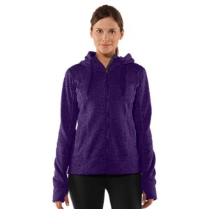 Fitness Our Women's UA Storm Rally Hoodie isn't your ordinary outerwear. It's built with a highly water-resistant finish that outlasts Mother Nature's worst. So whether it's a daylong drizzle or a quick downpour, this unassuming sweatshirt beefs up the security to keep you warmer, drier, and lighter than traditional hoodies. Exactly what'd you'd expect from Under Armour(R). Sturdy 330g sweater knit exterior with a super-soft fleece interiorUA Storm technology repels water but stays soft & breathable for superior comfortSignature Moisture Transport System wicks sweat to keep you dry and lightThumbholes keep sleeves secure and help seal in your body heatLow-profile 3-piece hood with soft, breathable UA Tech(TM) liningExtended length for the perfect coverage from the coldPrincess seams for a more streamlined fitOpen hand pocketsPolyesterImported - $65.99