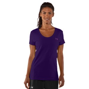 Fitness Made from super-soft cotton for a superior next-to-skin feelLightweight, 4-way stretch fabrication improves range of motion and dries fasterSignature Moisture Transport System wicks sweat to keep you dry Dries faster than ordinary cottonDeep scoop-neck design offers a feminine athletic feelCotton/ElastaneImported - $18.99